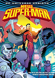 new superman book cover