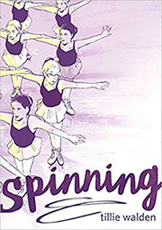 spinning book cover