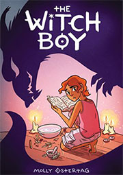 the witch boy book cover
